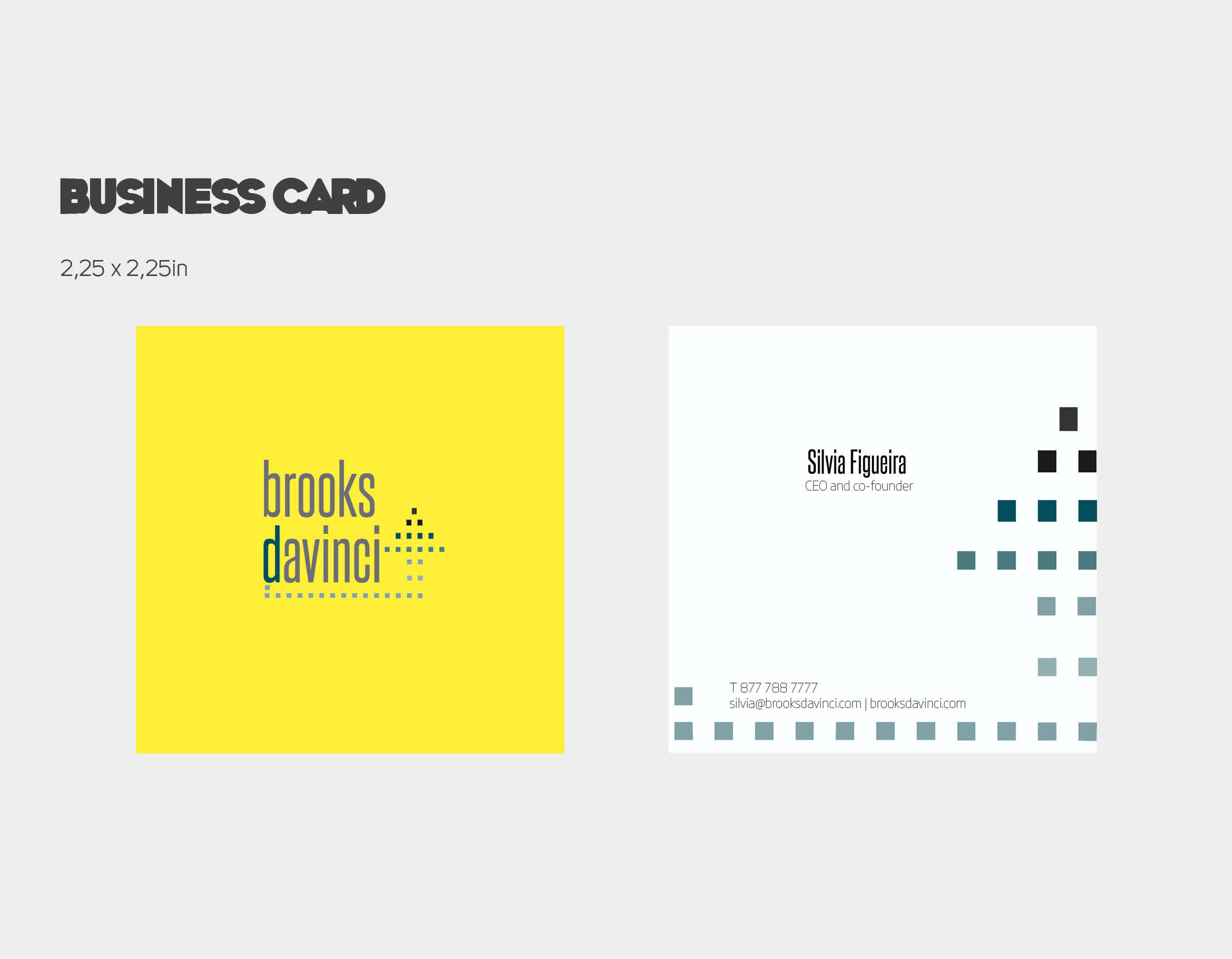 Business Card_Brooks Davinci_PORTFOLIO